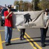 The Wounded Warrior Project was represented in a Veterans Day parade on SE 15th St. in Midwest City, OK, Monday, November 11, 2013, Photo by Paul Hellstern, The Oklahoman