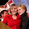 Mary Fallin hugs her daughter Christina Fallin as she speaks to supporters at the Will Rogers Theater in Oklahoma City, Oklahoma on Tuesday, July 27, 2010. Photo by John Clanton, The Oklahoman