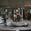 This undated publicity image released by Marvel shows Robert Downey Jr., as Tony Stark/Iron Man, in a scene from