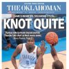 The Oklahoman, June 15, 2012, after the Thunder\'s 100-96 Game 2 loss to the Miami Heat in the NBA Finals.