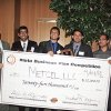 Photo - OKLAHOMA STATE UNIVERSITY: Four OSU students won $25,000 in a business plan competition. Metcel LLC included mechanical engineering students Balaji Jayakumar, Adrait Bhat and Ganapathi Mahadevan, along with MBA student Amir Bhochhibhoya. Provided ORG XMIT: KOD