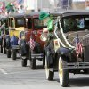 The Sooner Model A Club Of Oklahoma the annual rode in the Saint Patrick\'s Day Parade in downtown Oklahoma City, OK, Saturday, March 16, 2013, By Paul Hellstern, The Oklahoman