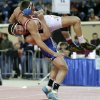 Deer Creek\'s Cole Pacheco , left, wrestles Collinsville\'s Zach Abkemeier during the Class 5a 170-pound championship match in the state wrestling championships at the State Fair Arena in Oklahoma City, Saturday, Feb. 23, 2013. Photo by Bryan Terry, The Oklahoman
