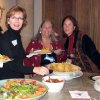 FUN AND FRIENDSHIP...Dee Richardson, Diane Kenney, and Julie Vaughn were at the Pi Beta Phi Alumnae Christmas party. (Photo provided).