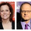 """FILE - This combination of 2012 file photos shows actors Sigourney Weaver, left, and David Hyde Pierce. Weaver and Pierce are teaming up to play siblings as both make a return to the stage in a Chekhov-inspired play, Christopher Durang's """"Vanya and Sonia and Masha and Spike,"""" for a 17-week limited engagement begining Tuesday, March 5, 2013 at Broadway's Golden Theatre in New York. (AP Photo/Danny Moloshok, Chris Pizzello)"""