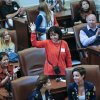 Students and their countries are recognized in the House of Representatives during International Student Awareness Day at the state Capitol on Monday, April 8, 2013, in Oklahoma City, Okla. International students from across the state joined legislators for the session wordy to see government in action. Photo by Chris Landsberger, The Oklahoman