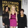 Gia Montegna, from left, Francesca Eastwood, and Dr. Aida Takla-O\'Reilly attend HFPA and InStyle\'s Golden Globe award season celebration at Cecconi\'s on Thursday, Nov. 29, 2012, in West Hollywood, Calif. (Photo by Katy Winn/Invision/AP)