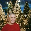 Owner David Green stands in front of decorated Christmas trees in one room inside his store, North Pole City, in southwest Oklahoma City Friday, December 21, 2007. By Jim Beckel, The Oklahoman.
