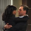 This image released by ABC shows Kerry Washington as Olivia Pope, left, and Tony Goldwyn as President Fitzgerald Grant in a scene from the ABC series