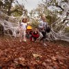 Children run through a giant spider web at Storybook Forest at Arcadia Lake, Saturday, Oct. 23, 2010. Photo by Doug Hoke, The Oklahoman