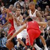 Oklahoma City \'s Eric Maynor (6) defends on Houston\'s Jeremy Lin (7) during the NBA basketball game between the Houston Rockets and the Oklahoma City Thunder at the Chesapeake Energy Arena on Wednesday, Nov. 28, 2012, in Oklahoma City, Okla. Photo by Chris Landsberger, The Oklahoman