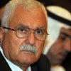 Photo -   Syrian regime opponent George Sabra attends the election of the Executive Office of the Syrian National Council in Doha, Qatar, Friday, Nov. 9, 2012. (AP Photo/Osama Faisal)
