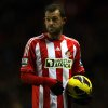 Sunderland\'s Steven Fletcher, is seen during their English Premier League soccer match against Reading at the Stadium of Light, Sunderland, England, Tuesday, Dec. 11, 2012. (AP Photo/Scott Heppell)