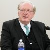 Sen. Jay Rockefeller speaks during a roundtable discussion on prescription drug abuse and trafficking on Thursday, Feb. 21, 2013, at Marshall University\'s Forensic Science Center in Huntington, W.Va. (AP Photo/The Herald-Dispatch, Sholten Singer)