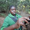 Kendre, 10, takes photos during an outing with The Boys and Girls Club\'s new program called
