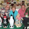 Two artists have joined together to create arts awareness within the community for Studio Mid-Del. (From left) Patrick Riley (Resident Artist), Aarone Corwin (Studio Mid-Del Executive Director) and Junior Freeman (Artist) display creative ideas for decorating the penguins that are being sold for a fund raiser for Studio Mid-Del%u2019s new art center. To adopt a penguin, call Aarone Corwin at 741-6666. Community Photo By: Liz Hames Submitted By: natalie,