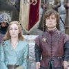 FILE - In this publicity file photo provided by HBO, Lena Headey as Cersei Lannister, left, and Peter Dinklage as Tyrion Lannister, are shown in a scene from HBO\'s