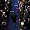 Barack Obama arrives for his inauguration at the U.S. Capitol in Washington, Tuesday, Jan. 20, 2009. (AP Photo/Susan Walsh)