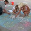 """""""Chalk it Up for LibertyFest"""" was held at Festival Market in Edmond Monday, July 3. Community Photo By: Nina Hager Submitted By: Doug, Edmond"""