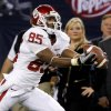 OU\'s Ryan Broyles catches a pass during the Big 12 football championship game between the University of Oklahoma Sooners (OU) and the University of Nebraska Cornhuskers (NU) at Cowboys Stadium on Saturday, Dec. 4, 2010, in Arlington, Texas. Photo by Bryan Terry, The Oklahoman