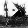 FILE - In this March 21, 1925, file photo is an overturned house that was carried more than fifty feet from it\'s foundation following a tornado in Griffen, Ind. The March 18 tornadoes that hit Missouri, Illinois and Indiana killing 695 people are one of the 10 deadliest tornadoes in the United States since 1900. (AP Photo/File)