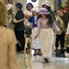 Aubrey Maxey plays games with classmates as more than 500 fifth grade students from across the state celebrated colonial history during Colonial Day at the state Capitol on Friday, Feb. 3, 2012, in Oklahoma City, Okla. Photo by Chris Landsberger, The Oklahoman