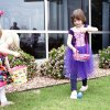 Lily Rose Botham, right, hunts for Easter eggs at ProCure Proton Therapy Center. Photo by Sarah Phipps, The Oklahoman archives