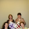 Acts 2 United Methodist Church has a quilt project in progress to commemorate their first year in the new Church building at Pennsylvania and Covell in Edmond. Showing the quilted squares are Andrea Carter, Kathy Wallis, Rochelle Wagoner and Dorothy Dunlap. The squares were signed by the Church members. Community Photo By: Linda Carter Submitted By: Linda, Edmond