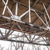 Photo -  Work continues on the bridge between Purcell and Lexington.  PHOTO PROVIDED BY STATE TRANSPORTATION DEPARTMENT
