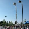 Bucket truck rides were among the popular activities at Thursday\'s Open House for Edmond Electric and the city\'s Water Resources Department. The annual Open House event had a new venue this year at the Cross Timbers Municipal Complex. Community Photo By: Jeremy Sanchez, City of Edmond Submitted By: Claudia, Edmond