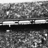 This Sugar Bowl action photo shows the University of Oklahoma\'s Darrell Royal as he picks up nine yards in the first quarter of the 1949 Sugar Bowl in New Orleans against Louisiana State. Royal started on the Oklahoma 30-yard line and was halted on the 39 by LSU\'s Jack Cole, a quarterback. OU won the game, 35-0. OKLAHOMAN ARCHIVE PHOTO