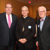 Tim O\'Connor, Archbishop Paul Coakley and D. Gregory Main posed for this 2012 photo. O\'Connor retired from his longtime post as executive director of Catholic Charities in January. PHOTO BY DAVID FAYTINGER, FOR THE OKLAHOMAN DAVID FAYTINGER - FOR THE OKLAHOMAN