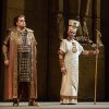 "Photo -   In this Nov. 15, 2012 photo provided by the Metropolitan Opera, Marco Berti, left, performs as Radames and Stefan Kocan as Ramfis in Verdi's ""Aida,"" during a dress rehearsal at the Metropolitan Opera in New York. (AP Photo/Metropolitan Opera, Marty Sohl)"