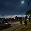 Photo - Threatening skies appear over Barrington, Ill. as severe weather approaches the Suburbs of Chicago on Wednesday, June 12, 2013.  (AP Photo/Daily Herald, Bob Chwedyk) MANDATORY CREDIT; MAGS OUT, TV OUT
