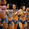 The Thunder Girls perform during an NBA basketball game between the Oklahoma City Thunder and the Washington Wizards at Chesapeake Energy Arena in Oklahoma City, Wednesday, March 19, 2013. Oklahoma City won 103-80. Photo by Bryan Terry, The Oklahoman