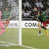 Photo - Germany's Thomas Mueller, second from right, scores during a friendly WCup preparation soccer match between Germany and Cameroon in Moenchengladbach, Germany, Monday, June 2, 2014. (AP Photo/Frank Augstein)