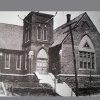 """Photo -  This vintage photograph shows """"The Tabernacle,"""" a house of worship built by St. Luke's founders in 1893. Photo provided  <strong></strong>"""