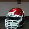 Photo - The Sooners' new facemasks. Photo by OU Athletics Communications
