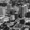 Aerial view of Oklahoma City by Al McLaughlin Aug 2, 1983