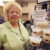 """Imalee Crow, with """"Sweet Prairie Home"""", shows her fudge during the Made in Oklahoma Festival at the Reed Conference Center in Midwest City, OK, Saturday, May 31, 2014, Photo by Paul Hellstern, The Oklahoman"""