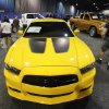 Car enthusiasts walk past a Dodge Charger in the auto show of the Oklahoma State Fair at State Fair Park in Oklahoma City, OK, Thursday, September 20, 2012, By Paul Hellstern, The Oklahoman