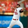 Photo - St. Louis Cardinals starting pitcher Michael Wacha throws during the first inning of a baseball game against the Arizona Diamondbacks on Wednesday, May 21, 2014, in St. Louis. (AP Photo/Scott Kane)