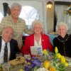 Charles Freede, Maggie Barrett, Jose Freede, Virginia Howard. (Photo by Helen Ford Wallace).