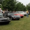 A variety of Jaguar cars were on display during the Iron Thistle Festival in Yukon, Saturday, April 28th, 2012. PHOTO BY HUGH SCOTT, FOR THE OKLAHOMAN ORG XMIT: KOD