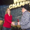 Lindsay Ross of Clayton finished third in the World Elk Calling Championship Photo provided