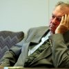 ** ADVANCE FOR USE SATURDAY, JAN. 1 - FILE ** Former Oklahoma state Sen.Gene Stipe listens to the proceeding during a hearing in which he is challenging a $65,000 cut in his retirement benefits, in this file photo shot in Oklahoma City, Friday, March 26, 2004. The sentencing of Stipe for his role in a 1998 federal campaign finance scandal was voted the number ten story in the state for 2004. (AP Photo/Sue Ogrocki)