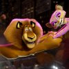 Photo -   This film image released by DreamWorks Animation shows, Alex the Lion, voiced by Ben Stiller, left, and Gia the Jaguar, voiced by Jessica Chastain, in a scene from