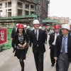 Photo - This March 2012 photo provided by Gov. Dennis Daugaard's office shows South Dakota Gov. Dennis Daugaard, center, walking with Chinese representatives during the governor's first trade mission to China. Daugaard will be joined by representatives from 11 companies and groups from around South Dakota when he makes his third trade mission to China May 9-16, 2014. (AP Photo/Courtesy of Gov. Dennis Daugaard's Office)