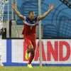 United States\' John Brooks, centre, celebrates after scoring his side\'s second goal during the group G World Cup soccer match between Ghana and the United States at the Arena das Dunas in Natal, Brazil, Monday, June 16, 2014. The United States won the match 2-1. (AP Photo/Ricardo Mazalan)