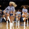 The Thunder Girls perform during an NBA basketball game between the Oklahoma City Thunder and the Golden State Warriors at Chesapeake Energy Arena in Oklahoma City, Friday, Jan. 17, 2014. Oklahoma City won 127-121. Photo by Bryan Terry, The Oklahoman